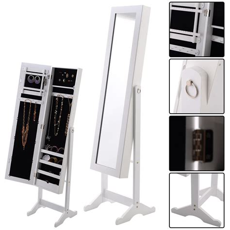 white mirrored jewelry cabinet armoire affordable variety armoire mirrored jewelry cabinet