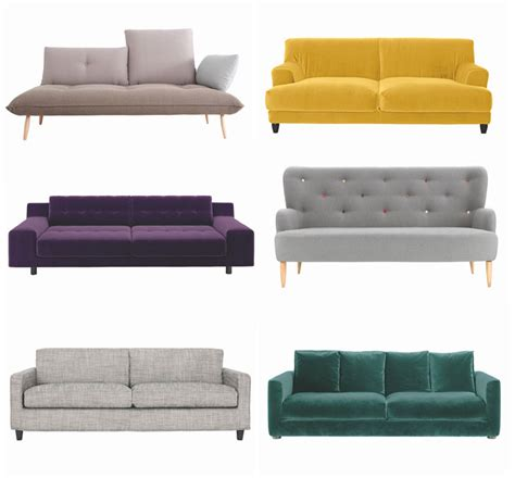 sofa habitat habitat sofa six sofa styles i m loving now lobster and