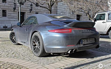porsche ducktail porsche 991 carrera 4 gts cabriolet 7 february 2016