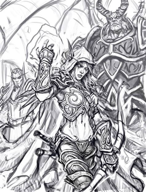 descargar world of warcraft an adult coloring book libro de texto under color sketchbook vol 1 183 glenn rane art 183 online store powered by storenvy