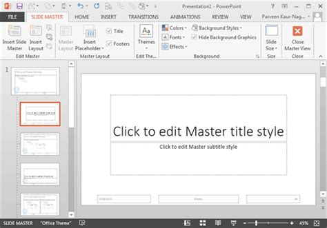 layout master powerpoint 2013 add your logo or graphic to the slide master in powerpoint