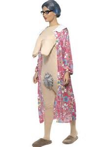 Adult gravity granny costume 39343 fancy dress ball