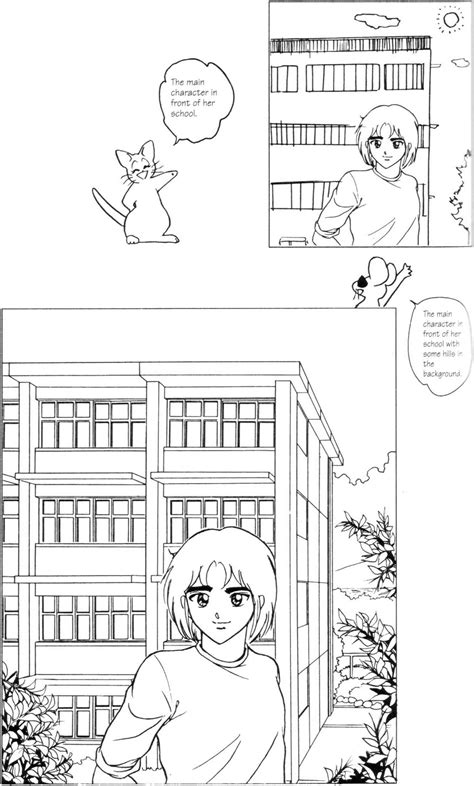 Three Point Perspective Buildings - Draw Manga - Joshua
