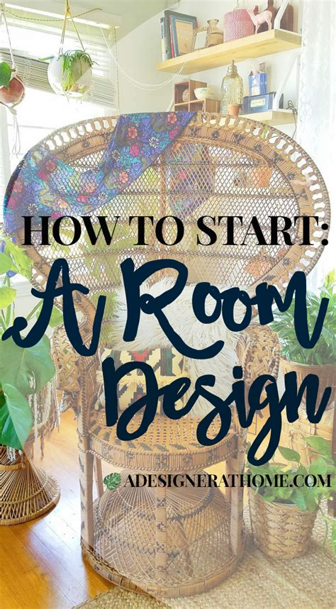 how to start decorating a room how to start a room design a designer at home