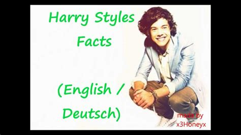 200 harry styles facts youtube harry styles facts english german youtube