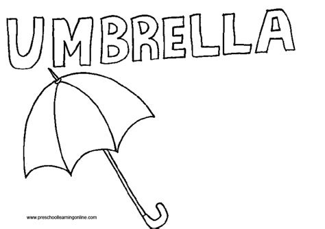 color and learn rain excellent coloring pages umbrella rain gallery resume