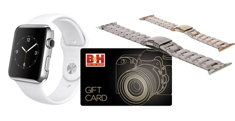 B H Gift Cards - deals 100 off apple watch free 75 gift card monowear band 13 quot macbook airs
