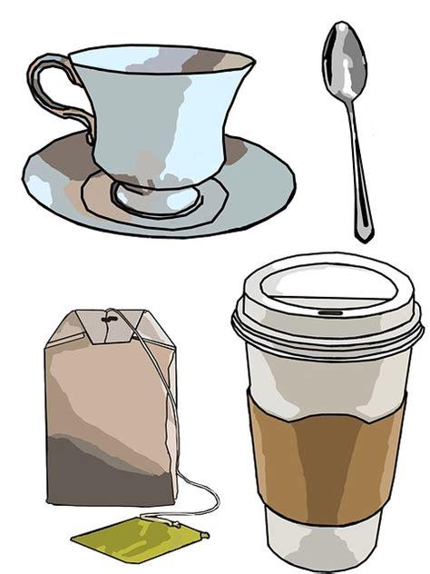 tea clipart free illustration coffee cup tea tea bag spoon free