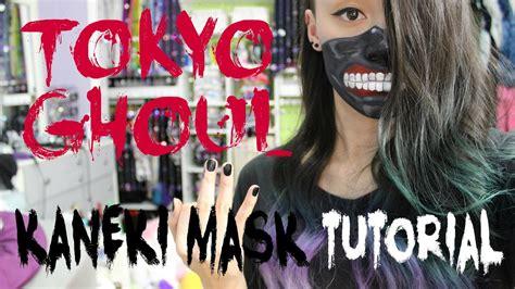 tokyo ghoul kaneki mask makeup tutorial youtube