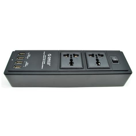 Orico Wall Charger With Ac Outlet And Usb Charger Port Hpc 6a5u Hpc 4a5u Hpc 8a5u Orico Wall Charger With 2 Ac Outlet And 4 Usb Charger Port Hpc 2a4u Black Jakartanotebook
