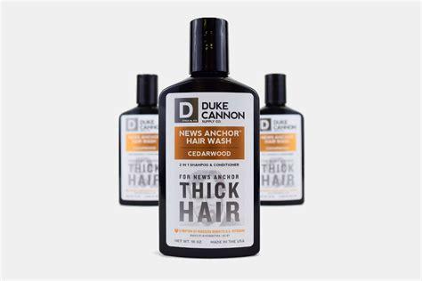 duke cannon news anchor hair wash gearmoose