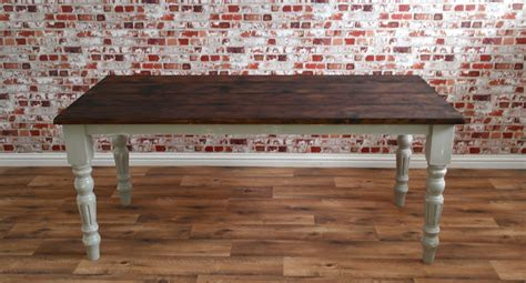 rustic reclaimed wood texas distressed dining table rustic farmhouse french dining table with fluted legs
