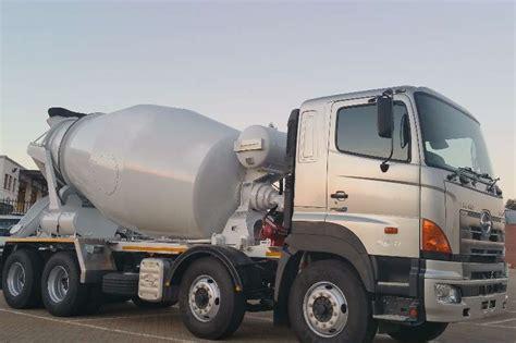 Truk Mixer Hino 2017 hino hino 3541 8x4 mixer concrete mixer truck trucks