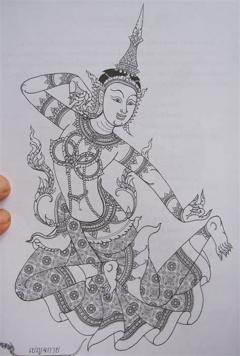 tattoo flash thailand thai warrior tattoo flash 7 jpg 171 black and white 171 flash