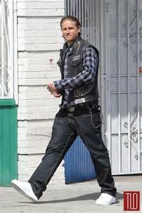 sons of anarchy jax teller and hunnam on
