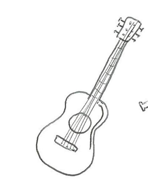 Collection of Imagenes Para Dibujar Guitarra | La Guitarra Espa 209 ...