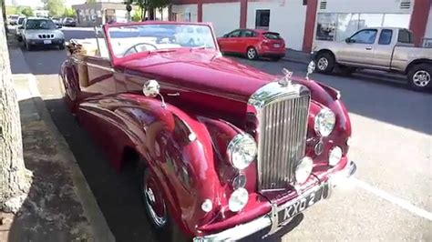 old bentley convertible beautiful old bentley convertible youtube
