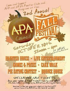 flyers fall and festivals on pinterest