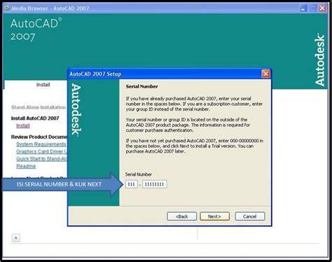 autocad full version installer 2007 fanatic tutorial cara cara install autocad 2007