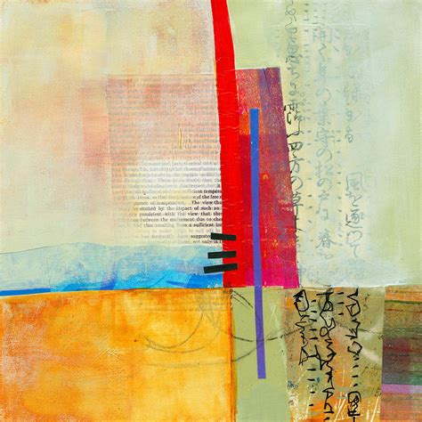 January Home Decor by Grid 3 Painting By Jane Davies
