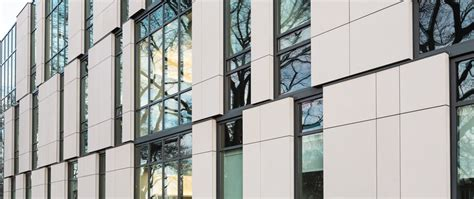 Office Curtain by Taktl 174 Ultra High Performance Concrete Facade Wall