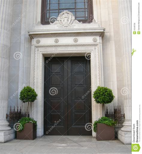 Classic Architecture In London Royalty Free Stock Image Architectural Front Doors