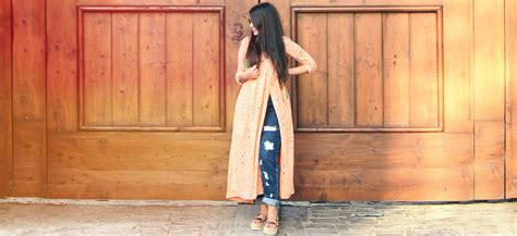 jeans  kurti combination  totally evergreen