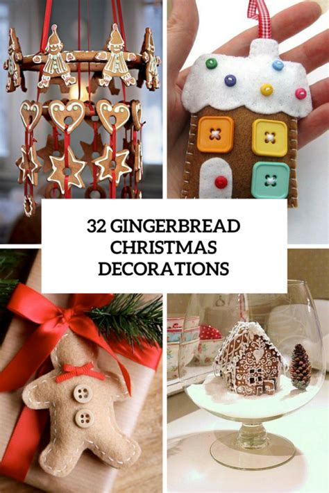 gingerbread home decor 32 delicious gingerbread christmas home decorations digsdigs
