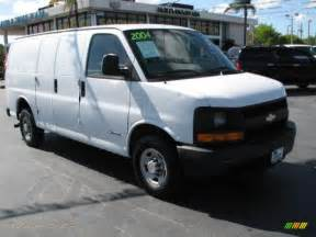 Chevrolet Express Cargo For Sale 2004 Chevrolet Express 2500 Cargo In Summit White