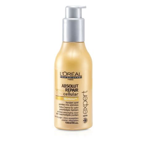 Conditioner Loreal Absolut Repair Besar l oreal professionnel expert serie absolut repair cellular leave in conditioner fresh