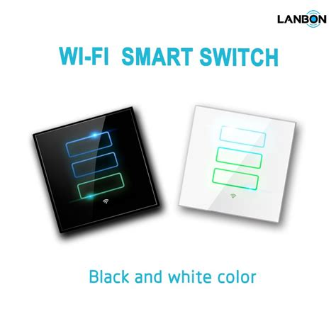 lanbon home automation smart wifi wall switch light switch