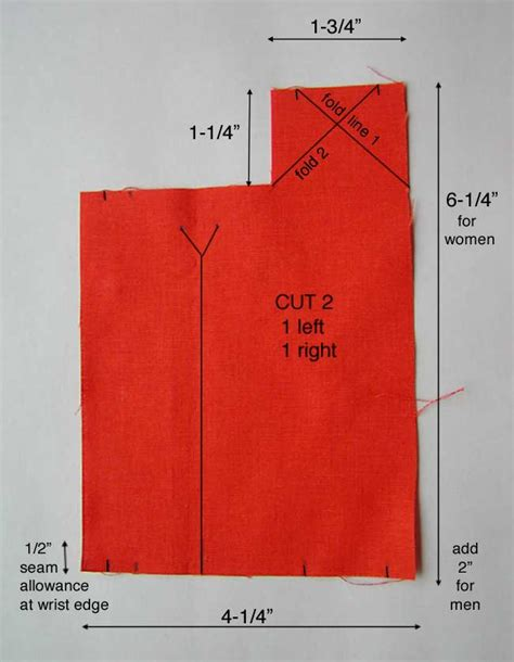 Pattern For Shirt Placket | sleeve placket pattern