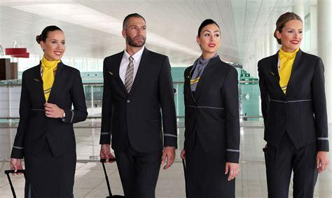 vueling cabin crew new look vueling crew design eye catching new uniforms