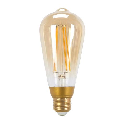 edison light bulb led globe electric 60w equivalent soft white 2200k vintage