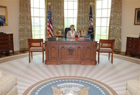 the oval office recreating the oval office at the george w bush