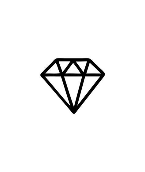 tattoo diamond outline 43 amazing diamond tattoos designs