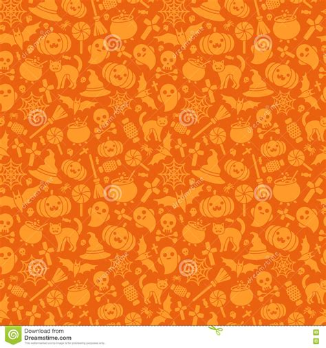 orange pattern web halloween seamless pattern orange background stock vector