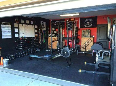 Garage Gym Design Just Like Garage Gym S Own Garage Gym No Room For