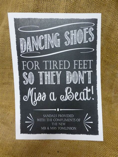 1000 Ideas About Wedding Dancing Shoes On Pinterest Wedding Shoes Sign Template