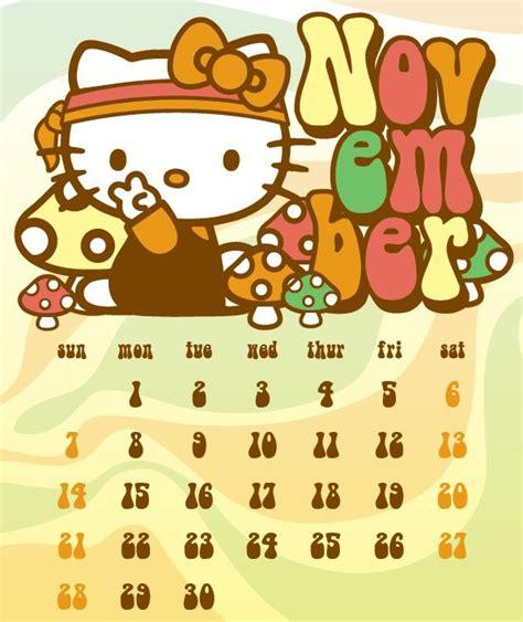 Calendario Noviembre 2010 Hello En Acci 243 N Calendario Noviembre 2010