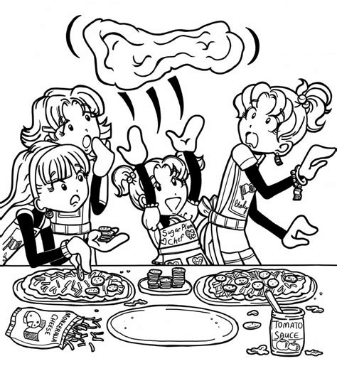 coloring pages vire diaries dork diaries printable coloring pages coloring home