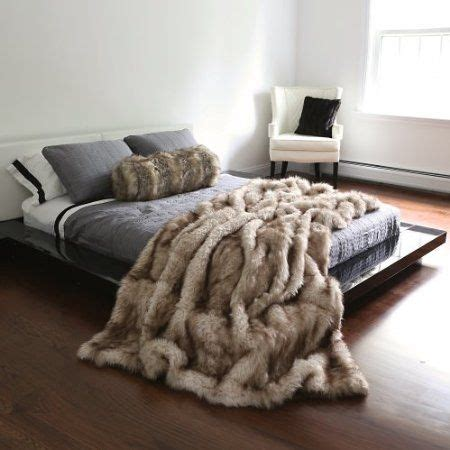 fur coverlet bedding styles that are cozy winter modern life with lorelai