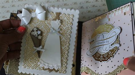 Wedding Mini Album by 6x6 Wedding Mini Album Scrapbook