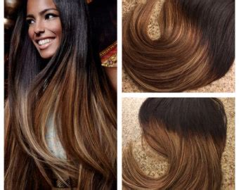 how to get ombre hair balayage american tailoring 5 star ombre balayage cuticle remy human hair keratin fusion