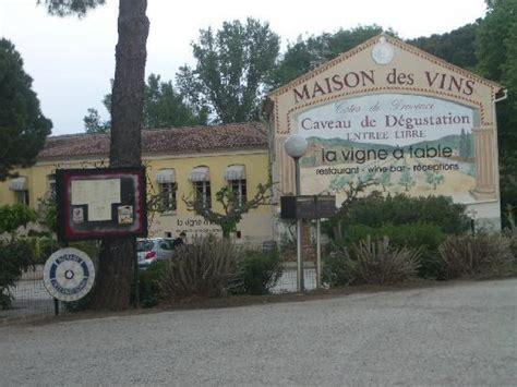 maison des vins cotes de provence in les arcs sur argens