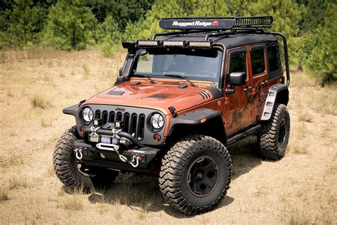 rugged jeep new at summit racing rugged ridge parts and accessories for jeep jk wrangler
