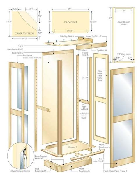 How To Build A Curio Cabinet by Diy How To Build A Curio Cabinet Plans Free