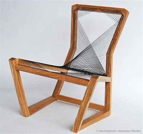 stuhl geflochten sprocket cardboard chair en themag