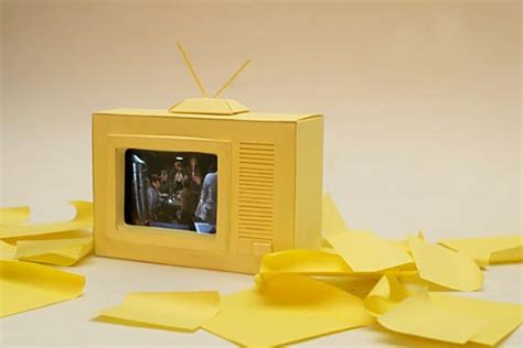 How To Make A Paper Tv - turn your iphone into tv set gadgetsin