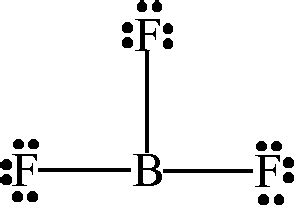 lewis dot diagram for boron bf3 lewis and 3 d structures dr sundin uw platteville